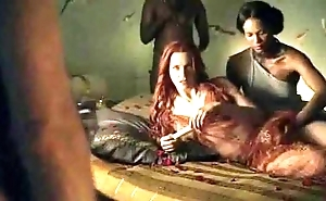 Spartacus - bonzer coition scenes (anal, orgy, lesbian)