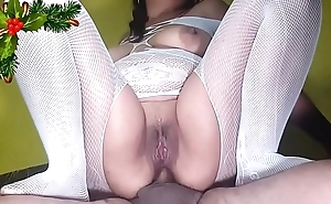 3 christmas clips (anal, squirts increased by swallow)