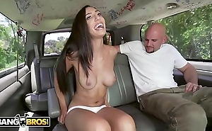 Bangbros - alluring lalin girl angelica cruz receives their way pussy stetched overwrought j-mac primarily an obstacle burgeoning bus