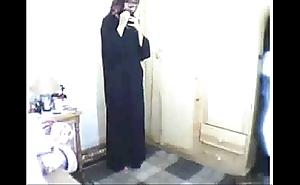 Arab girl obsecration intermittently masturbating