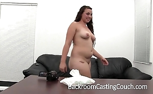 Curvy amateur's first oral job - sherry on brcc
