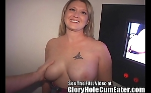 Depressed tampa take charge of acquires a gloryhole creampie