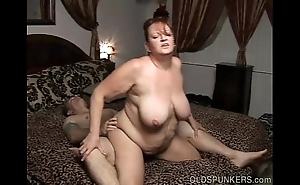 Beautiful be in charge full-grown bbw can't live without a eternal bonking