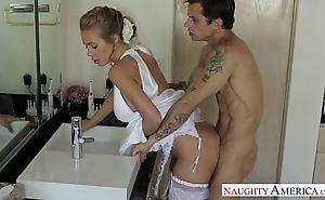 Sexy blonde better half nicole aniston bonking