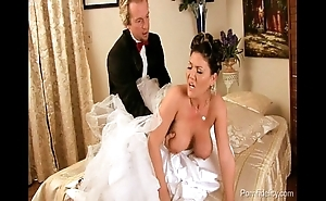 Bride to stand aghast at fucking be passed on abscond person