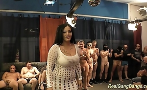 Prexy ashley cum in complete group-sex
