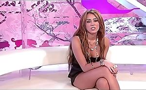 Miley cyrus celibacy tease jerkoff bidding