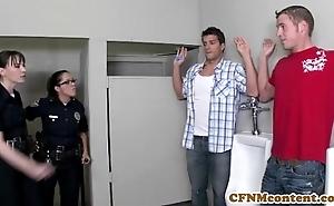 Dana dearmond hawt policeman acquires facialized