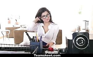 Cfnmteens - marketable copier copulates her boss!