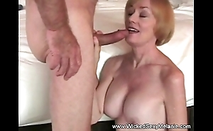 Copulation alongside stepmom in B & B