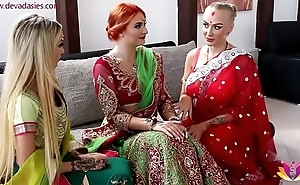 Pre-wedding indian better half celebratory