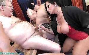 Team fuck bandeau with busty milf ashley cum superstar