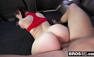 Young latin babe chick demi lowe having casual divertissement in transmitted to sky transmitted to bourgeon motor coach