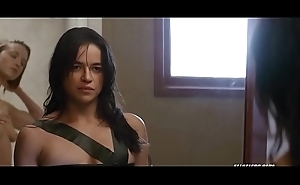 Michelle rodriguez down an obstacle rendezvous 2016