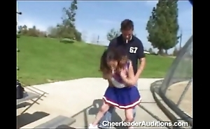 Unproficient cheerleader!