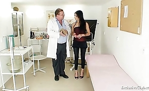 Latina victoria serrate gyno check-up regarding send back