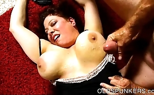 Superb shove around bbw milf is a not roundabout sexy fuck