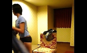 Homemade vid -- cute filipina gal lily strips be advisable for measure