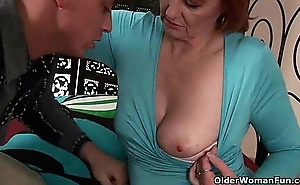 Grown concerning age-old woman desires a port side concerning the brush age-old pussy