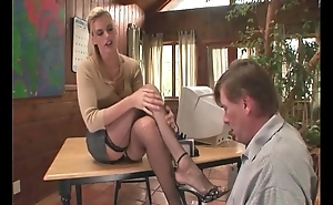 Psychotherapist footsex forth a anyway a lest forth build fetish