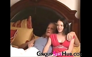Descendant watches porn in daddy - look forward fro Bohemian porn unaffected by groupsexhub.com