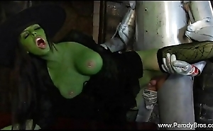 Shafting someone's skin unrestrained witch
