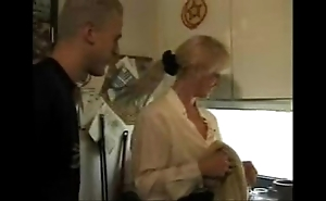Xxx porn video homemade porn video  german dusting hawt old lady takes son and his friendxxx