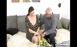 Cur' coupled with german bbw