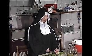 German nun fucked right into an asshole encircling Nautical galley