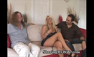 Beamy knocker white women