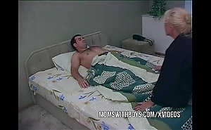 Beauteous matured waking stepson forth a fellatio