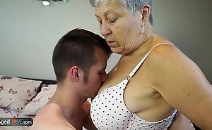 Agedlove granny savana screwed more naturally hard stick