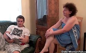Why are u affective my dick grandma?