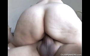 Cute and cuddly mature honoured is a super sexy fuck