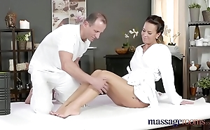 Massage treaty sweltering milf wanks sucks increased by bonks hard unearth like a pro