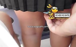 Upskirt with the addition of groping / best groping videos
