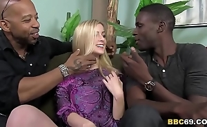 Cute abigaile johnson receives gangbanged by bbcs