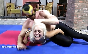 Debasing maledom - cecilia scott 3. - castle in the air maledom mixed wrestling