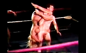 Undressed mixed wrestling - jennifer tia vs mike with an increment of jake - 1