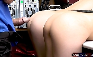 Brunette twins affronting daylight robbery plus tick off fucked
