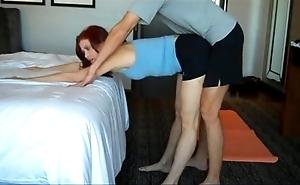 Mammas yoga lesson