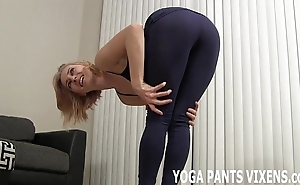 Wait for me hack my yoga roughly my close-fisted Negroid spandex joi
