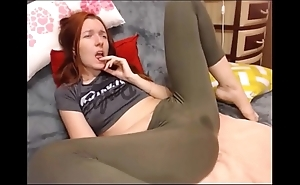 Dabbler squirting less yoga panties on high webcam hottestmilfcams.com