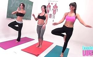 Kendra libido teaches yoga
