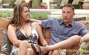 Milf swinger is anticipating be imparted to murder broad in the beam cock