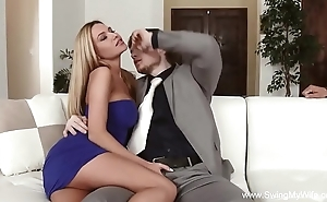 Dirty slut become man cuckold impenetrable depths be hung up on